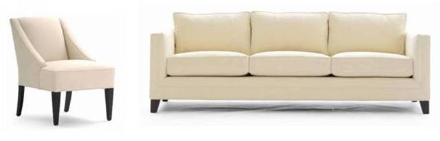Seating furniture – upholstered chairs  and sofas