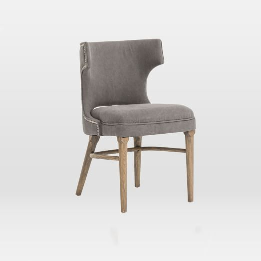 Nailhead Upholstered Dining Chair | west elm