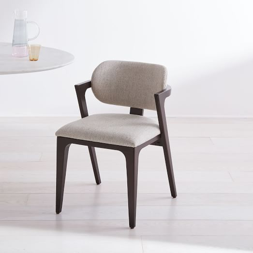 Adam Court Upholstered Dining Chair   west elm