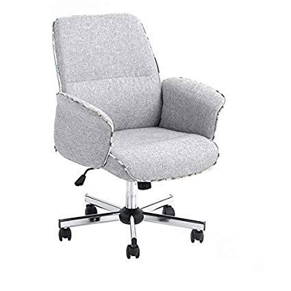 Amazon.com: HOMY CASA Home Office Chair Upholstered Desk Chair