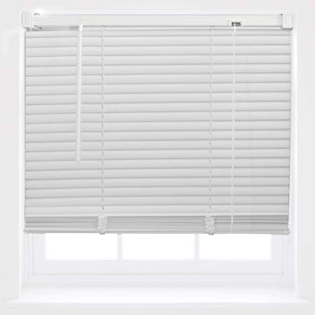 PVC Venetian Window Blinds Trimmable Home Office Blind New - White
