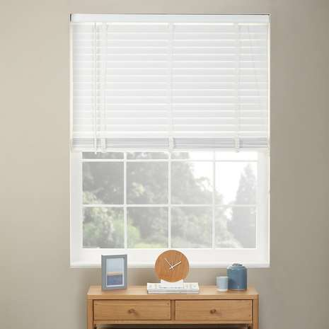White Wooden Venetian Blind Mm White Wooden Blinds For Windows