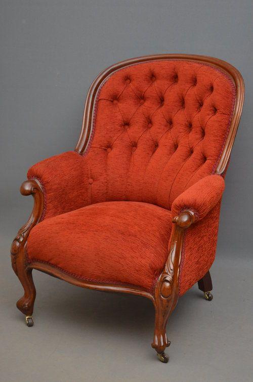 Antique Victorian Armchair - Mahogany Armchair | Fotelje za