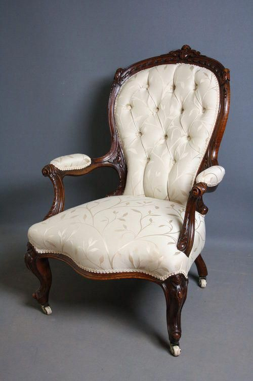 Perfect Victorian Armchair 18 With Additional Home Decor Arrangement