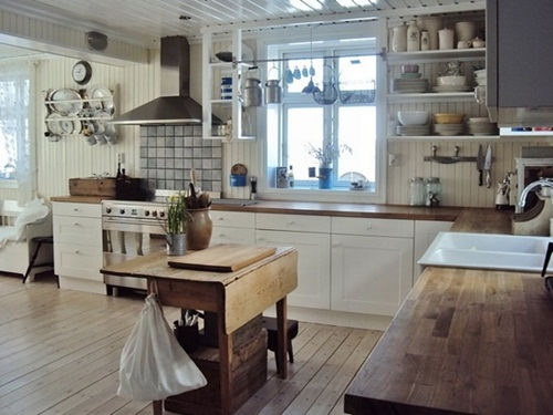 vintage kitchen - Daily Dream Decor