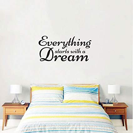 Amazon.com: Inspirational Quote Wall Art Vinyl Decal - Everything