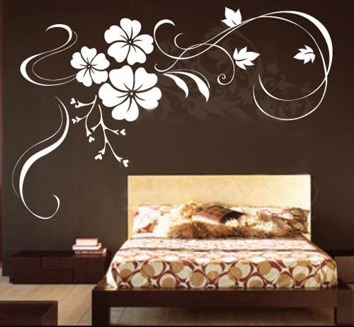 Vinyl Home Wall Art Decal Sticker Cherry Blossoms 60