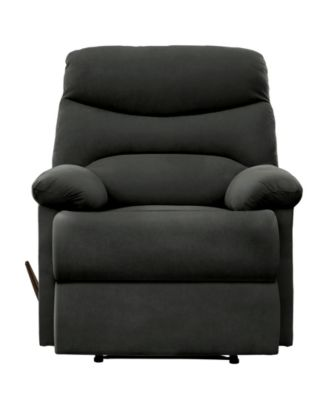Handy Living ProLounger Sherwin Wall Hugger Recliner in Gray