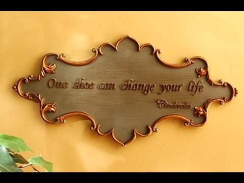 Wall Plaques - Inspirational Wall Plaques And Signs - YouTube
