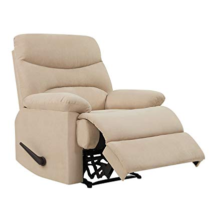 Amazon.com: ProLounger Wall Hugger Recliner Chair in Khaki
