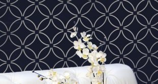 Wall stencils, stencil designs and patterns for walls. Stencils for easy