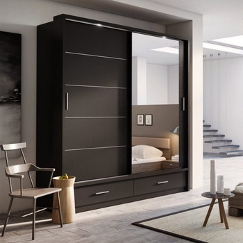 Chinese Customized Cheap Closet Organizers,Indian Wooden Bedroom