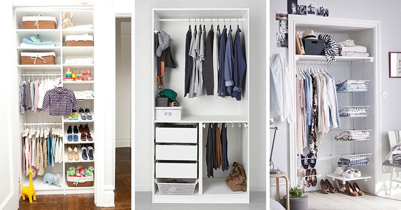 9 Storage Ideas For Small Closets | CONTEMPORIST