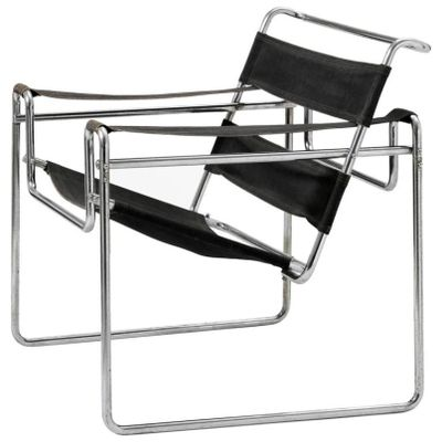 Vintage Model B3 Wassily Chair by Marcel Breuer for Thonet-Mundus
