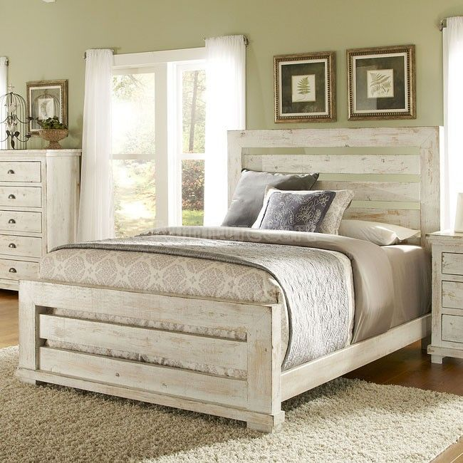 Distressed White Bedroom Set http://coastersfurniture.org/shabby