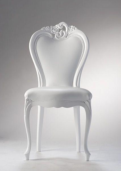 white #chair | Purely White in 2019 | Pinterest | Chair, Sofa chair