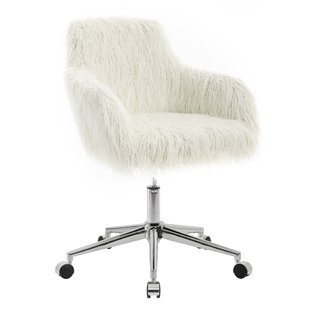 White Wood Office Chairs You'll Love | Wayfair