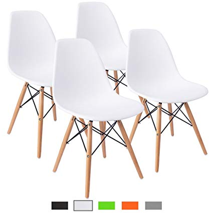 Amazon.com - Furmax Pre Assembled Modern Style Dining Chair Mid