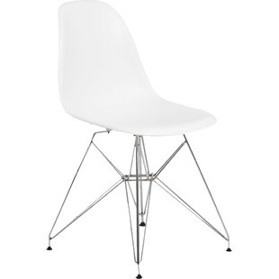 Modern & Contemporary Modern White Dining Chairs | AllModern