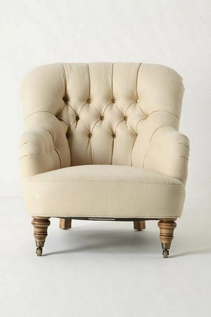 winter white comfy chair #bigcomfychair | High Back Accent Chairs