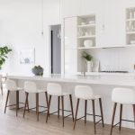 Picturesque white kitchens