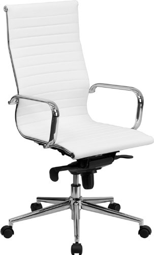Get white leather office chair to enhance   the look of the office