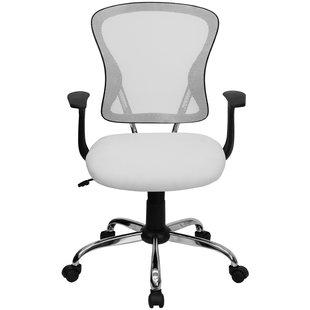 White Office Chairs You'll Love | Wayfair