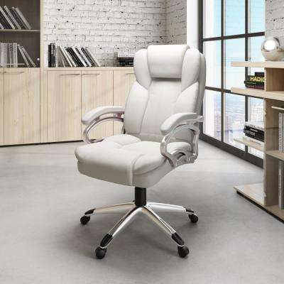 White - Office Chairs - Home Office Furniture - The Home Depot