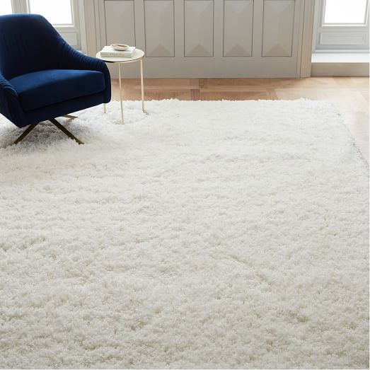 Blathering collection of white rug