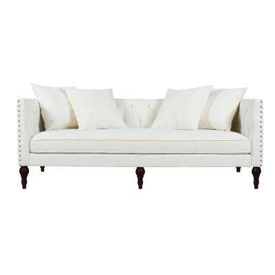 White - Sofas & Loveseats - Living Room Furniture - The Home Depot