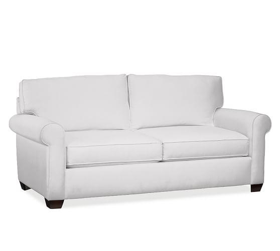 Buchanan Roll Arm Upholstered Sofa | Pottery Barn