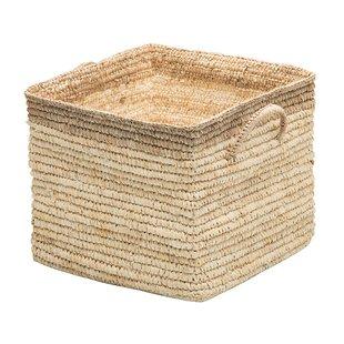 Square Wicker Storage Baskets | Wayfair