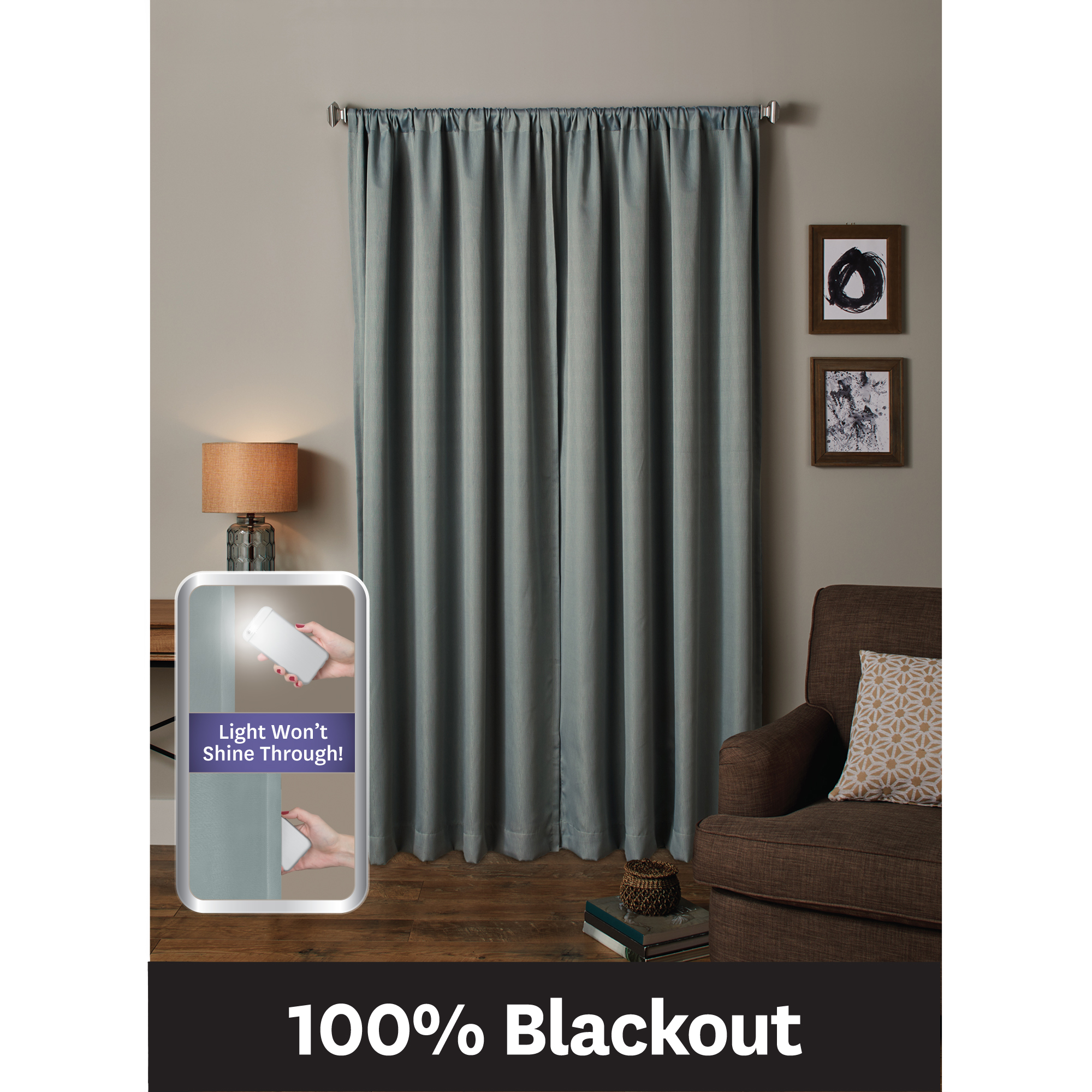 Better Homes & Gardens Ultimate Light Blocker 100 Percent Blackout