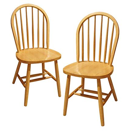 Amazon.com - Winsome Wood 89999 Windsor Seating, Natural - Chairs