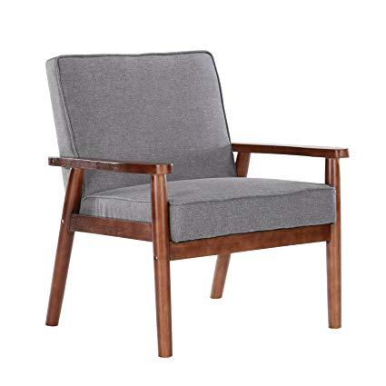 Amazon.com: Artechworks Mid Century Modern Upholstered Wooden