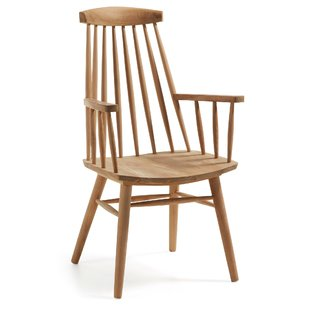 Armchair With Wooden Arms | Wayfair.co.uk
