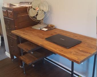 Home office desk | Etsy