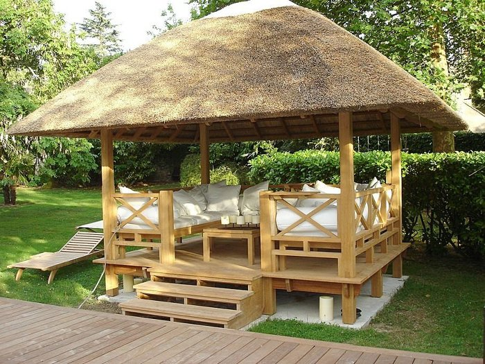 Wooden Gazebos - Adding Style To Your Garden - FineWoodworking