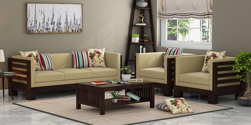 Wooden Sofa Set: Buy Wooden Sofa Set Online in India Upto 55% OFF