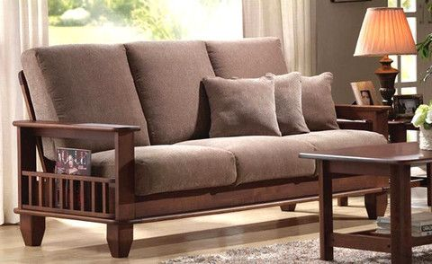 wooden sofa set - Google Search u2026 | Kitchen Ideas | Pinteu2026