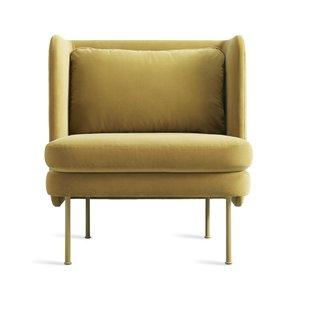 Modern Velvet Yellow Accent Chairs | AllModern